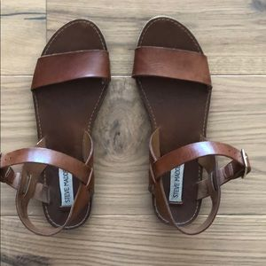 Steve Madden leather sandals size 9